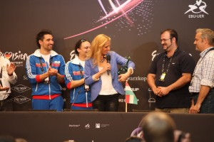Ungarn fikk sin første pris