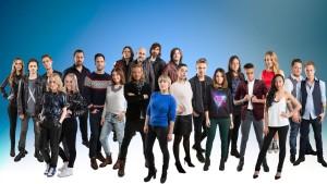 Årets MGP deltagere - foto: Kim Erlandsen/NRK