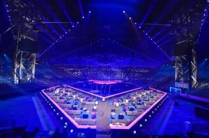 Scenen i B&W Hallerne - foto: Andreas Putting/EBU