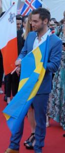Måns Zerlmerlöw sikrer Sveriges 5. seier i ESC - Foto: Leif Smith