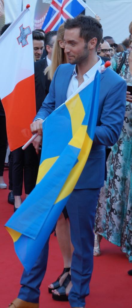 Måns Zerlmerlöw sikret Sveriges 6. seier i ESC - Foto: Leif Smith