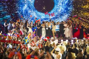 Vinnerne av andre semifinale - foto: Andres Putting (EBU)